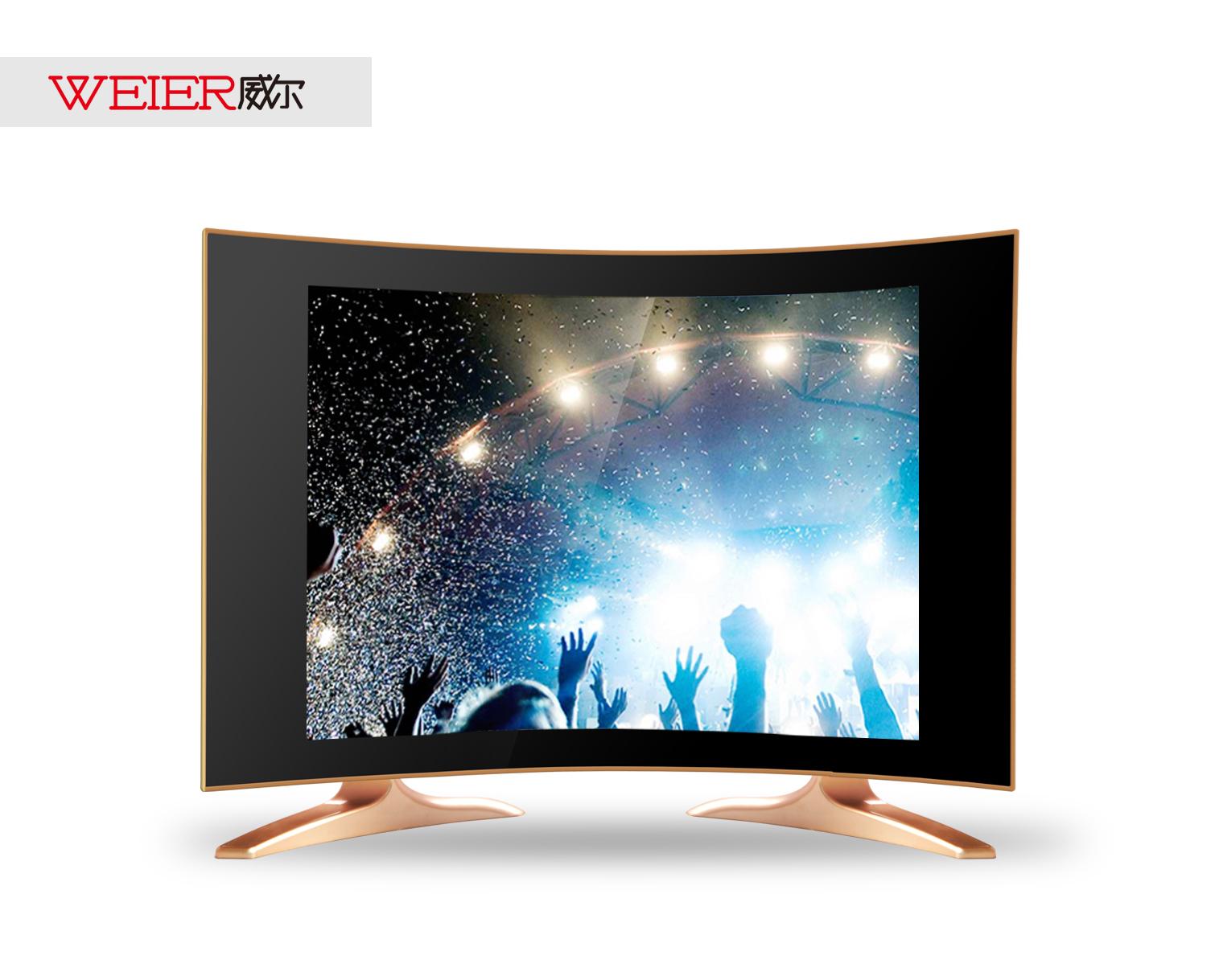 17寸曲面小电视17寸LED液晶高清电视