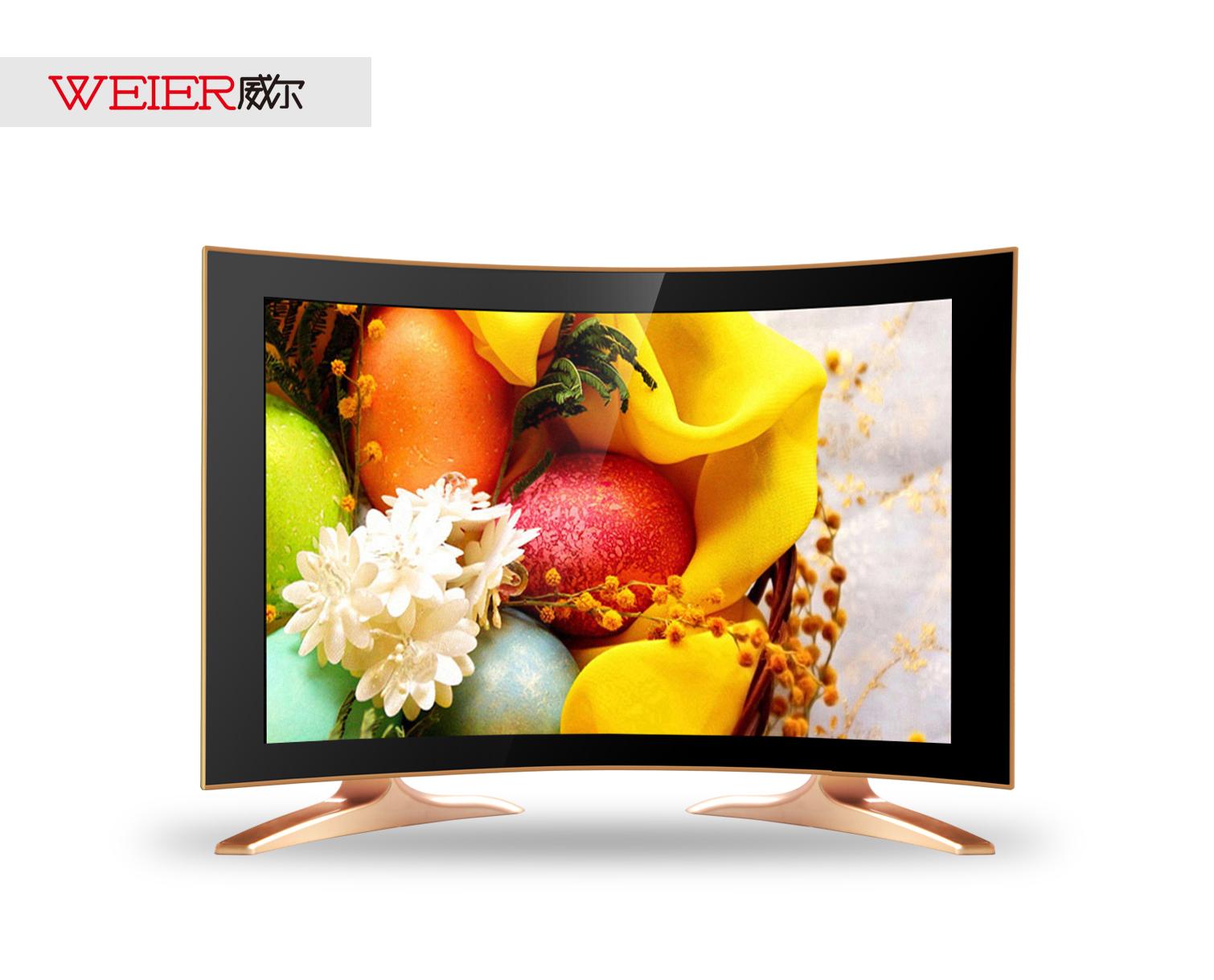 19寸曲面液晶电视LED高清液晶电视曲面私模液晶电视