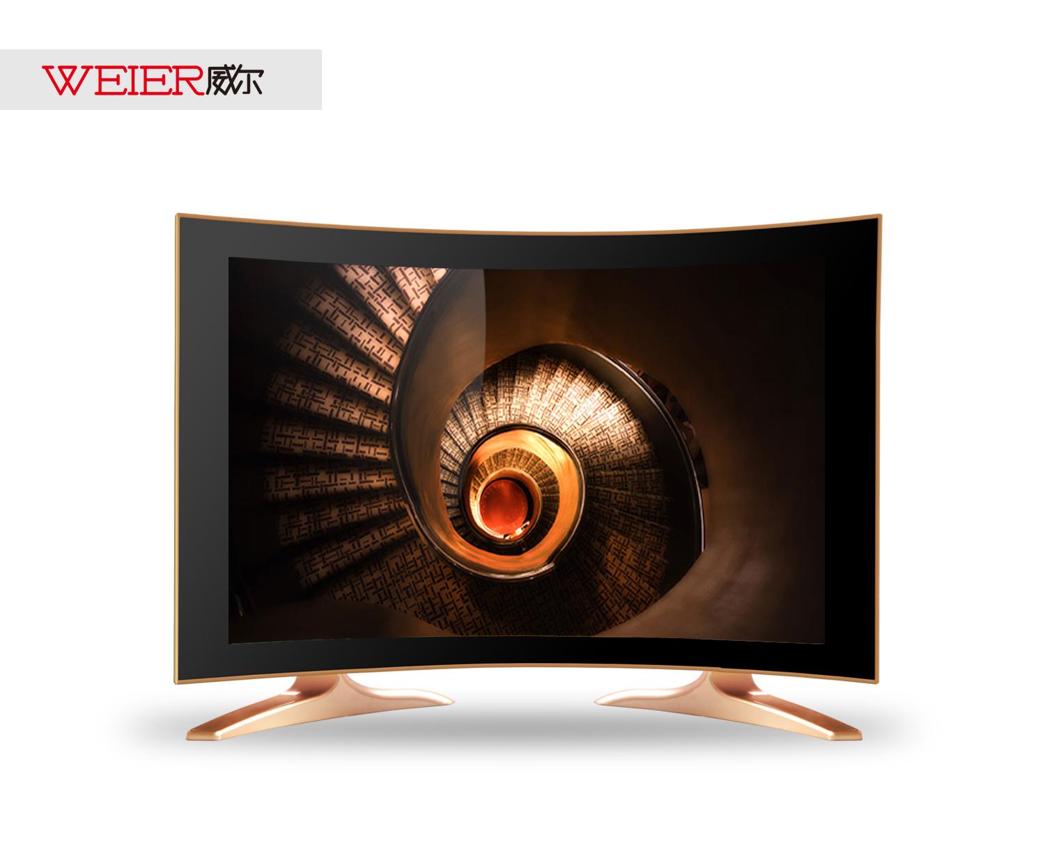 24寸高清液晶电视24寸曲面液晶电视